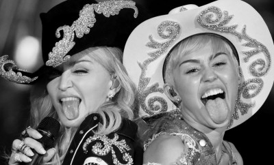 Madonna and Miley Cyrus rule!